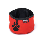 Outdoor Paws Outdoor Paws Travel Bowl Red