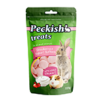 Peckish Peckish Small Animal Treats Strawberry And Yoghurt