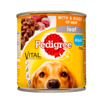 Pedigree Pedigree 5 Meats Loaf Cans