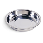 Petface Petface Bowl Stainless Steel Shallow Dish