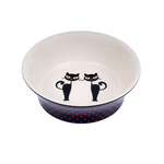 Petface Petface Ceramic Bowl Silhouette Cats