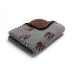 Petface Petface Comforter Sherpa Fleece Printed Choc