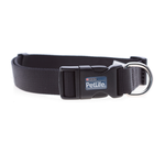 PetLife Petlife Nylon Adjustable Collar Black