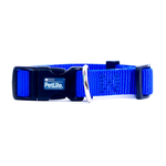 PetLife Petlife Nylon Adjustable Collar Blue