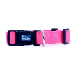 PetLife Petlife Nylon Adjustable Collar Pink