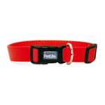 PetLife Petlife Nylon Adjustable Collar Red