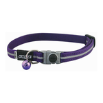 Rogz Rogz Alleycat Collar Purple
