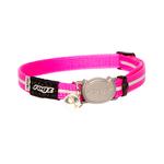 Rogz Rogz Alleycat Collar Safeloc Pink