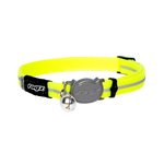 Rogz Rogz Alleycat Collar Safeloc Yellow
