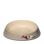 Rogz Rogz Fishcake Cat Bowl Grey Heart