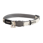 Rogz Rogz Glowcat Collar Black Jumping Cat