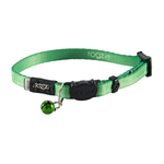 Rogz Rogz Kiddycat Collar Lime Paws