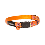 Rogz Rogz Neocat Collar Safeloc Orange