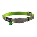 Rogz Rogz Nightcat Collar Lime Swallows