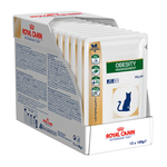 Royal Canin Veterinary Diet Royal Canin Veterinary Diet Feline Obesity Management Pouches 12 x 100g