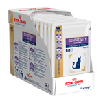 Royal Canin Veterinary Diet Royal Canin Veterinary Diet Feline Sensitivity Control Chicken And Rice Pouches 12 x 100g