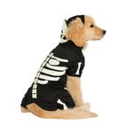 Rubies Deerfield Rubies Deerfield Dog Costume Hoodie Skeleton