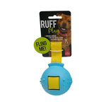 Ruff Play Ruff Play Durable Fling Ball Blue