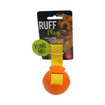 Ruff Play Ruff Play Durable Fling Ball Orange