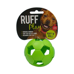 Ruff Play Ruff Play Durable Soccer Ball Green