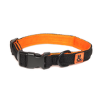 Rufus and Coco Rufus And Coco Dog Collar Air Mesh Black And Orange