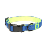 Rufus and Coco Rufus And Coco Dog Collar Air Mesh Blue And Green
