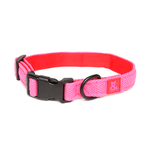 Rufus and Coco Rufus And Coco Dog Collar Air Mesh Pink And Red