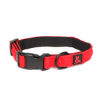 Rufus and Coco Rufus And Coco Dog Collar Air Mesh Red And Black
