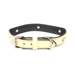 Rufus and Coco Rufus And Coco Dog Collar Bones Beige