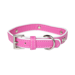 Rufus and Coco Rufus And Coco Dog Collar Bones Pink