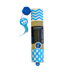 Scream Scream Cat Toy Cardboard Roller Blue