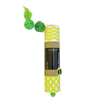 Scream Scream Cat Toy Cardboard Roller Green