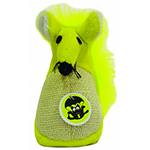 Scream Scream Cat Toy Fatty Mouse Green