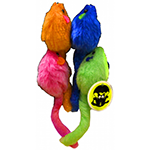 Scream Scream Cat Toy Mice Multi Colour