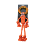Scream Scream Rope Man With Tpr Head Orange