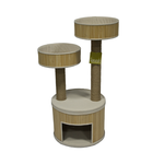 Scrunch and Sticks Scrunch And Sticks Cat House Bamboo