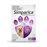 Simparica Simparica Flea Tick Chews Extra Small Dog