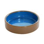 Small Animal Care Small Animal Care Bowl Ceramic Blue Shallow