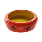 Small Animal Care Small Animal Care Bowl Ceramic Orange