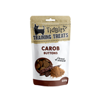 Tidbits Tidbits Dog Treats Carob Buttons