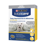 Total Care Total Care Tasty Chew Allwormer Heartworm Small Dog