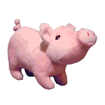 Tuffy Tuffy Mighty Toy Farm Series Paisley Piglet