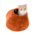 United Pets United Pets Cat Cave Orange