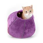 United Pets United Pets Cat Cave Purple