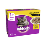 Whiskas Whiskas Wet Cat Food Adult Chicken Jelly