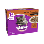 Whiskas Whiskas Wet Cat Food Adult Mixed Favourites Jelly