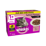 Whiskas Whiskas Wet Cat Food Adult Salmon Jelly