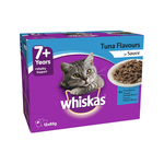 Whiskas Whiskas Wet Cat Food Senior 7 Plus Tuna Gravy