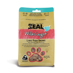 Zeal Zeal Dog Treats Free Range Naturals Ling Fish Skins