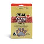 Zeal Zeal Free Range Natural Treats Beef Jerky